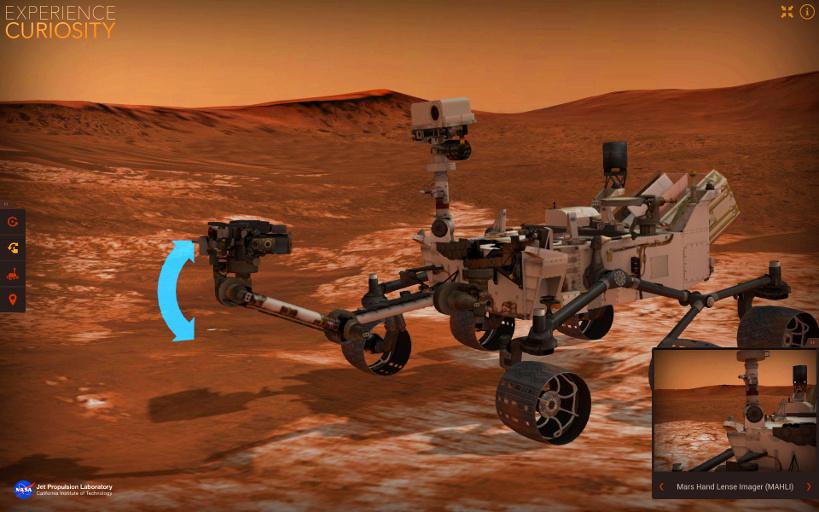 好奇号火星车模拟器