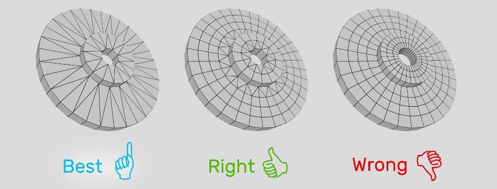 为WebGL应用优化的圆柱形模型