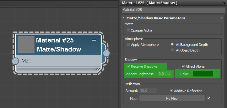 max material matte shadow2