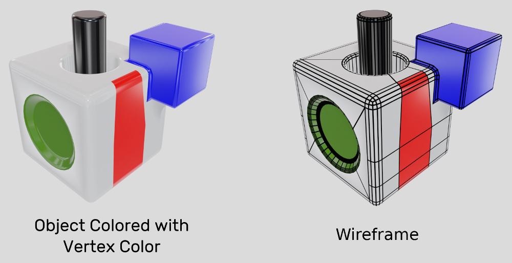 使用顶点色优化WebGL性能