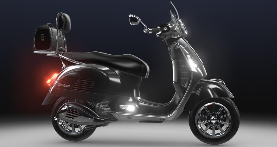 Verge3D电动摩托车配置器